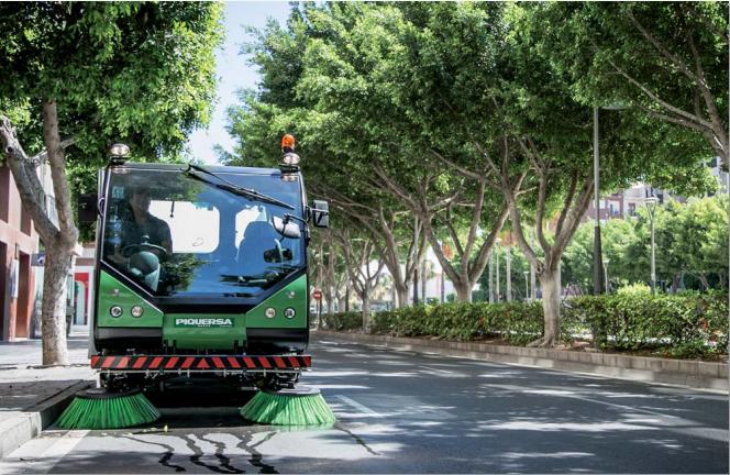 Limpieza Urbana en la Ciudad de Almería