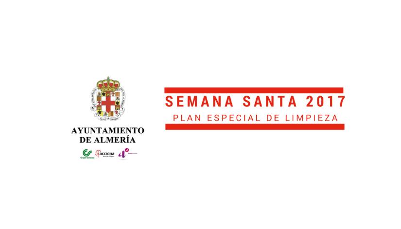 Plan Especial de Limpieza de Almería en Semana Santa
